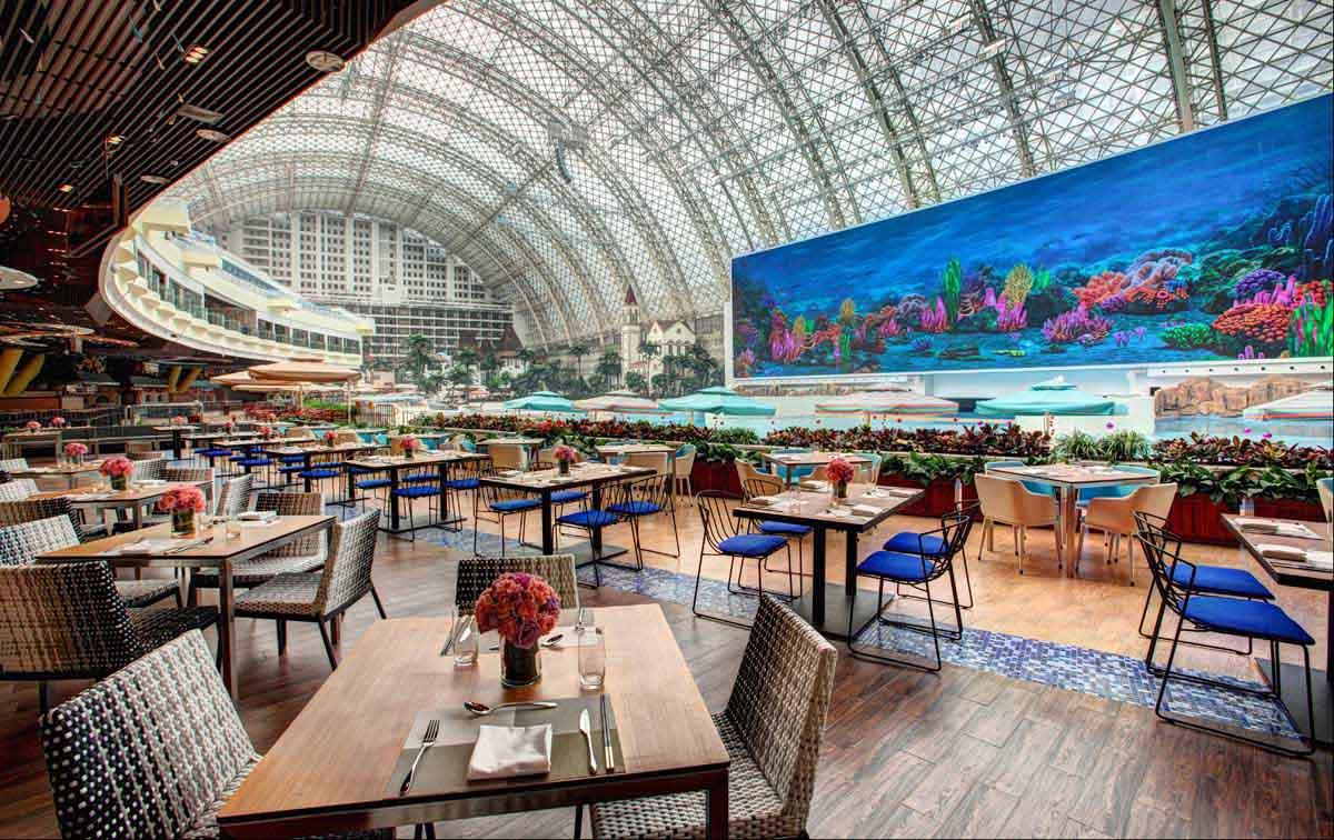 室内水上乐园_成都环球中心天堂岛海洋乐园|WFIVE 五珀设计集团